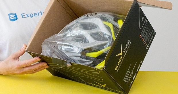 Blackcrevice Fahrrad- & Mountainbike Helm im Test - Material: Polycarbonat-Schale mit EPS-Schaum