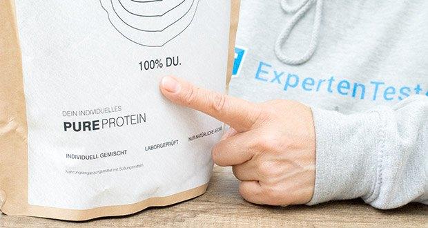 Brandl Pure Protein im Test - jeden Fitness-Shake 100% individuell