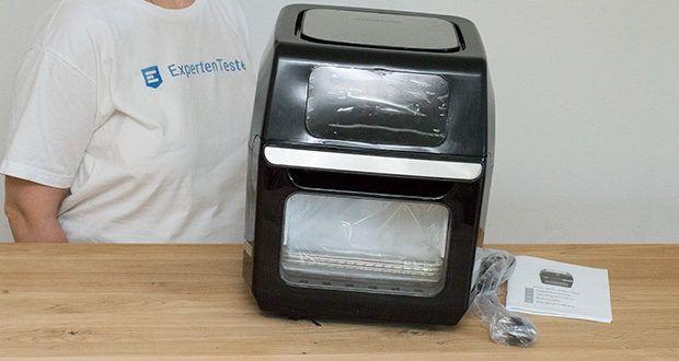 GOURMETmaxx Heißluft-Fritteuse im Test - Material: PP, Edelstahl