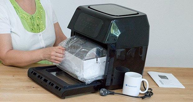 GOURMETmaxx Heißluft-Fritteuse im Test - mit Temperaturregler von 80-200 °C