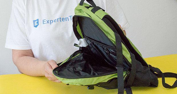 Blackcrevice Kinder Rucksack Explorer im Test - verfügt über ein großes Hauptfach und zwei kleinere Frontfächer, bietet damit genug Platz für alle notwendigen Utensilien