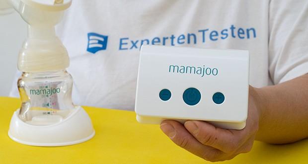 Mamajoo Elektronische Milchpumpe im Test - bietet 5 verschiedene Massage und 10 verschiedene Saugstärken, insgesamt 15 Funktionen
