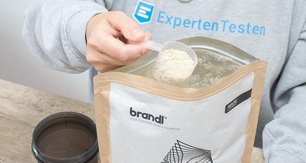 Brandl Pure Protein im Test - nach dem Kauf mischt Brandl umgehend in Deutschland deinen Shake für dich zusammen