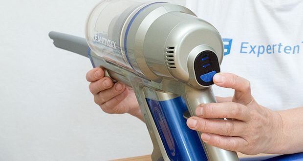 CLEANmaxx Akku-Handstaubsauger Sensitive im Test - mit 2 Saugstufen