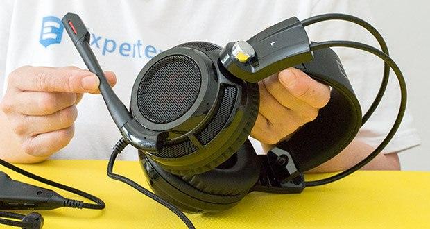 EasyAcc G1 Gaming Headset im Test - Frequenzbereich: 20-20,000Hz / Impedance: 32 Ohm bei 1khz