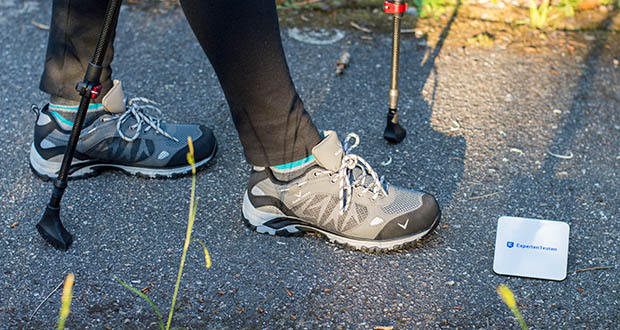 Blackcrevice Damen Low-Cut Wanderschuhe im Test - Einsatz: Wandern, Nordic Walking, Lifestyle
