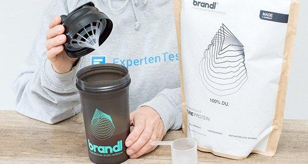 Brandl Pure Protein im Test - nach nur 9 Fragen und 60 Sekunden deiner Zeit präsentieret Brandl dir deinen 100% individuellen brandl Shake
