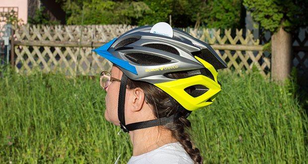 Blackcrevice Fahrrad- & Mountainbike Helm im Test - abnehmbare Sonnenblende; zahlreiche Belüftungsöffnungen