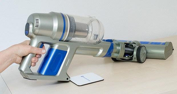 CLEANmaxx Akku-Handstaubsauger Sensitive im Test - Akku Betriebsdauer: ca. 20-30 Minuten (bei voll aufgeladenem Akku)