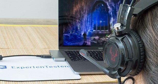 EasyAcc G1 Gaming Headset im Test - Kabelfernbedienung für bestes Gaming Erlebnis
