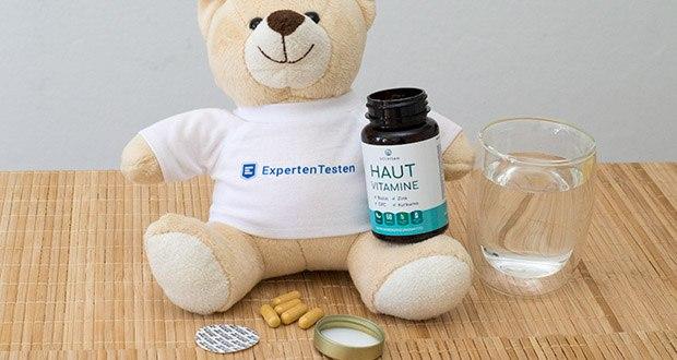 SOLVISAN Haut Vitamine im Test - sind hochdosiert, sorgfältig ausgewählt und enthalten über 20 perfekt aufeinander abgestimmte Mikronährstoffe für Frauen und Männer
