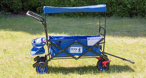 Izzy Bollerwagen faltbar im Test - vielseitig einsetzbar z.B. für Einkäufe und Ausflüge