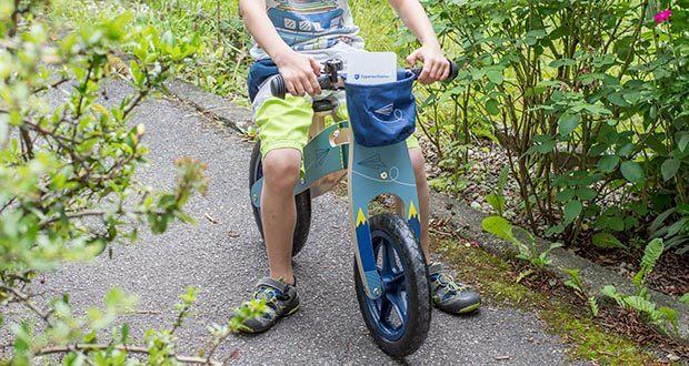 small-foot Laufrad blauer Papierflieger im Test - Einstiegsalter: ab 3 Jahre