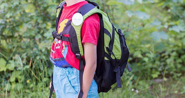 Blackcrevice Kinder Rucksack Explorer im Test - die weich gepolsterten Schultergurte und der Brustgurt sind selbstverständlich verstellbar