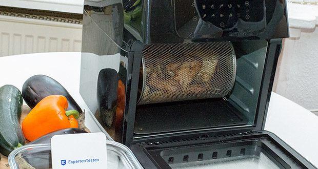 GOURMETmaxx Heißluft-Fritteuse im Test - können Sie jetzt knusprige Pommes frites, leckere Snacks, saftiges Fleisch u.v.m. fettarm und mit minimalem Aufwand genießen