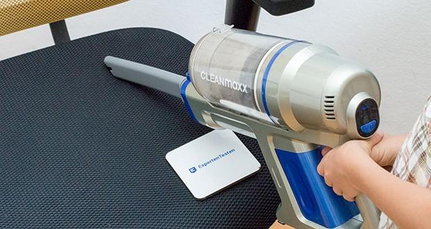 CLEANmaxx Akku-Handstaubsauger Sensitive im Test - Leistung: 150 W