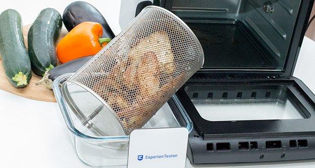 GOURMETmaxx Heißluft-Fritteuse im Test - besonders fettarmes und schonendes Garen mit Heißluft