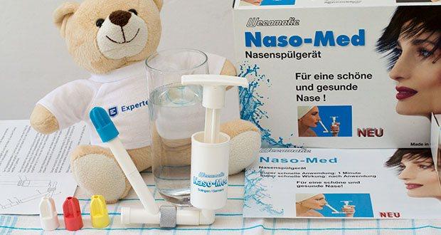 Wecomatic Naso-Med Nasendusche im Test - für eine schöne und gesunde Nase!