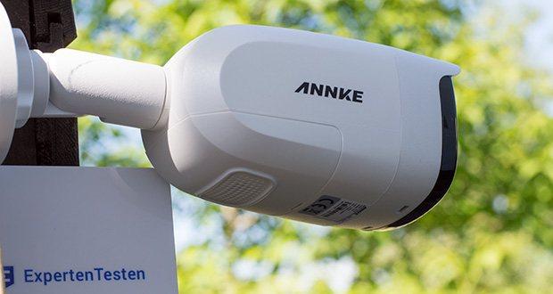 Annke CCTV Überwachungskamera BR200 im Test - für Innen / Außen; Betriebstemperatur: -40°C – 60°C