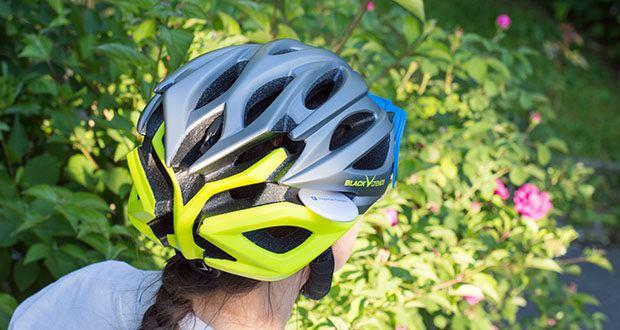 Blackcrevice Fahrrad- & Mountainbike Helm im Test - das spezielle Design der Schalenkonstruktion verbessert die Stabilität und macht den Helm nicht nur leicht, sondern schützt und dämpft optimal
