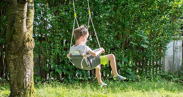 small-foot Babyschaukel Komfort im Test - ideales Geschenk zum Geburtstag für kleine Schaukel-Fans!