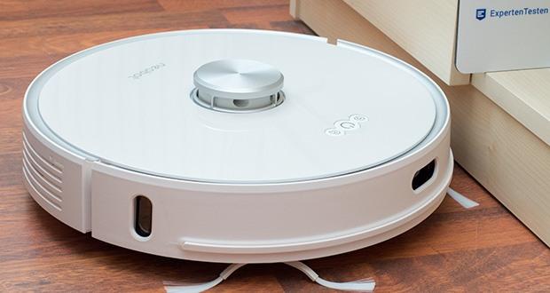 Neabot NoMo Staubsaugerroboter im Test - kann die Umgebung kennen lernen und eine optimierte Reinigungsroutine herausfinden