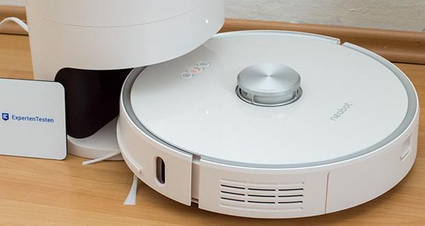 Neabot NoMo Staubsaugerroboter mit automatischer Absaugstation im Test - durch Neabot-APP können Sie Reinigungspläne machen