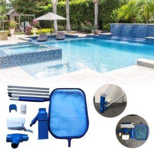 Welches Pool Reinigungsset eignet sich für einen Pool mit Kartuschenfilter im Test?