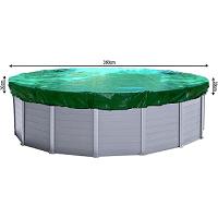 Den Pool für die Wintermonate vorbereiten