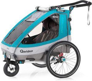 Der Qeridoo Kidgoo2 Sport Fahrradanhänger im Test