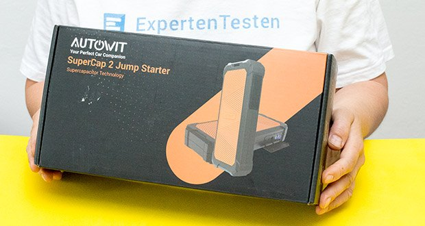 Autowit SuperCap 2 Starthilfe im Test - Starthilfe der nächsten Generation