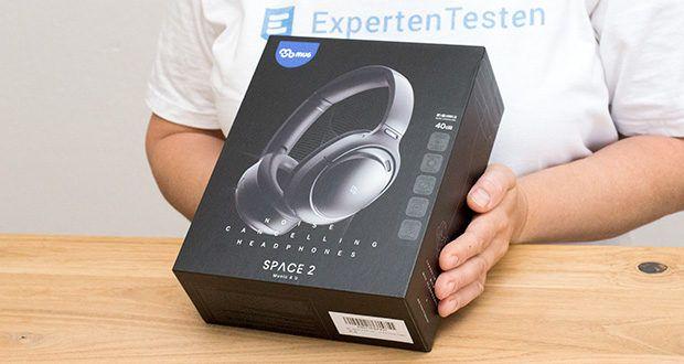 Mu6 Space 2 Bluetooth Kopfhörer im Test - Frequenzbereich: 20Hz-2000Hz; Frequenzbereich ANC: 20Hz-1000Hz