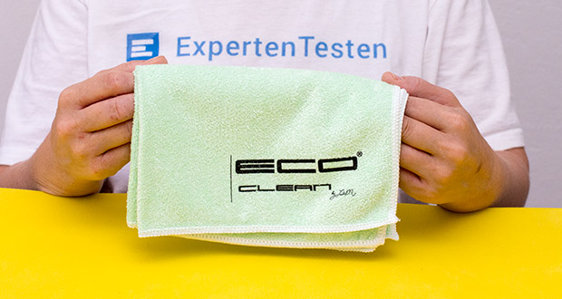 ECO-Clean by LcM Mikrofasertuch im Test - Gewicht in g/m² 280