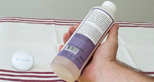 ECO-Clean by LcM Badreiniger 500 ml im Test - das Produkt beseitigt effektiv Kalk, Seifenrückstände, Schmutz und Rost