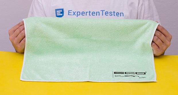ECO-Clean by LcM Mikrofasertuch im Test - Größe: 40 x 40 cm; in verschiedenen Farben