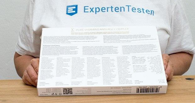 X115 ACE Anti-Age Vitamin Serum im Test - versorgt die Haut mit hochkonzentrierten reinen Vitaminkomplexen, die für die optimale kosmetische Wirkung der einzelnen Vitamine sorgen