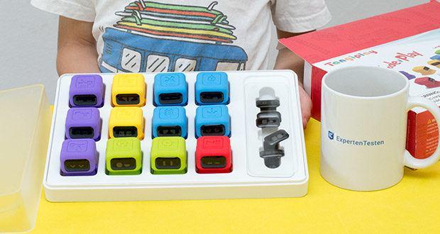 Tangiplay Coding Spielzeug im Test - 12 süße Roboters mit 20 austauschbare Emoji Gesichter