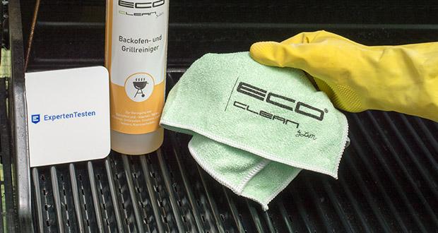 ECO-Clean by LcM Mikrofasertuch im Test - aus 80% Polyester und 20% Polyamid