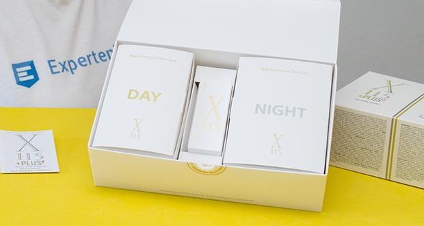 """X115+Plus Skin Care Set im Test - in zwei Phasen agierendes Nahrungsergänzungsmittel mit doppelter """"Day & Night""""-Formel"""