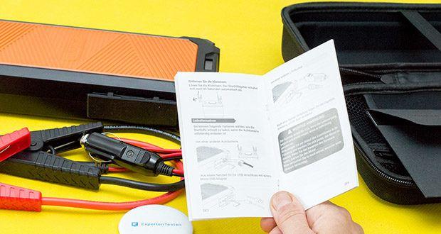 Autowit SuperCap 2 Starthilfe im Test - besteht keine Gefahr von Hitzeentwicklung, Schwellung, Rissen, Explosion oder Feuer, so dass Sie es sicher verwenden können