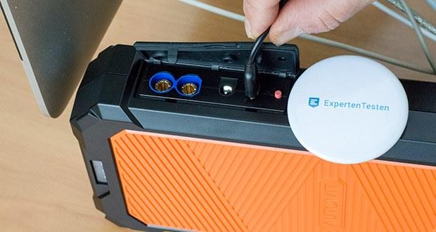 Autowit SuperCap 2 Starthilfe im Test - gleichzeitig Laden und Entladen