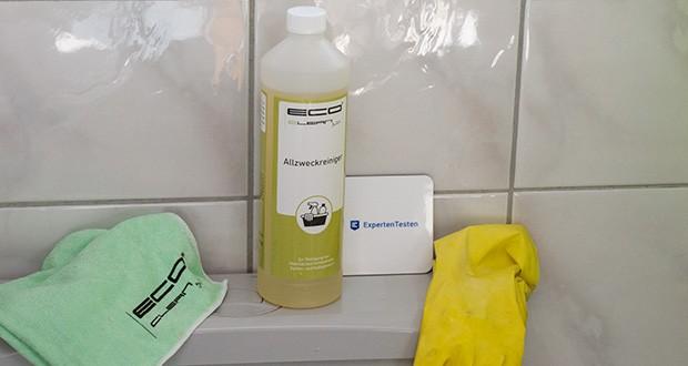 ECO-Clean by LcM Allzweckreiniger 1000 ml im Test - für Verunreinigungen wie z.B. Öl, Fett, Ruß, Gras- und Weinflecken, Umwelt- und Insektenschmutz, Filzstift, Nikotin, Staub und Harz