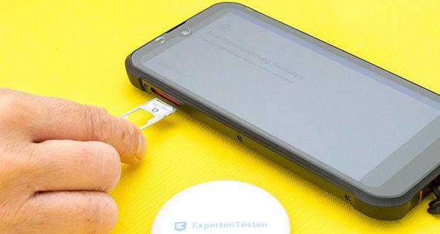 Gigaset Outdoor Smartphone GX290 im Test - das Dual Sim Smartphone kann mit zwei Rufnummern beruflich und privat verwendet werden; zudem Face-ID, wireless charging uvm