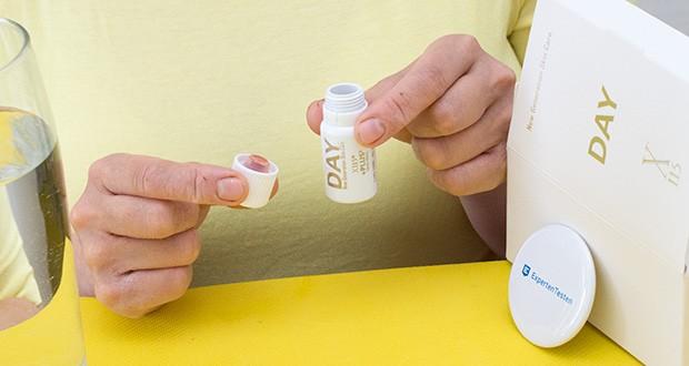 X115+Plus Skin Care Set im Test - die Bioverfügbarkeit der Wirkstoffe wird bis zum Zeitpunkt der Einnahme garantiert