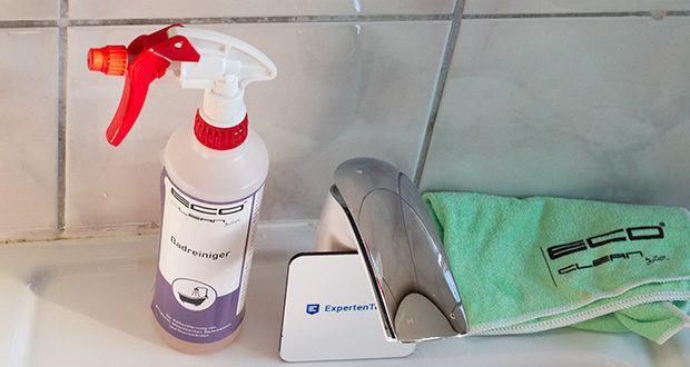 ECO-Clean by LcM Badreiniger 500 ml im Test - somit kann die Reinigung mit geringerem Aufwand durchgeführt werden