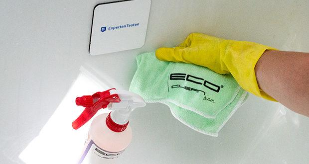 ECO-Clean by LcM Mikrofasertuch im Test - waschbar bis max. 90°C