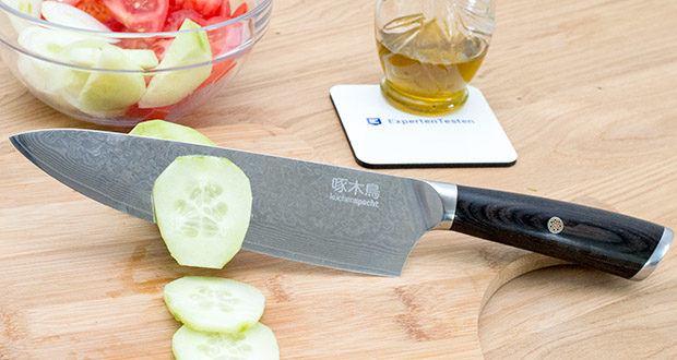küchenspecht Kochmesser aus Damast Stahl im Test - kommt mit einer lebenslangen Garantie