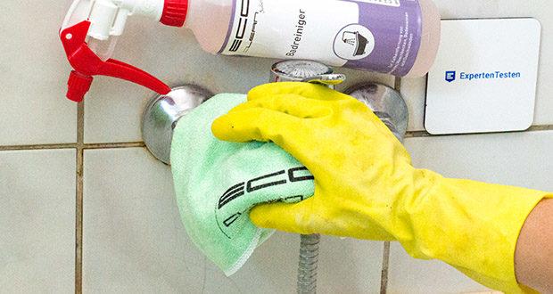 ECO-Clean by LcM Mikrofasertuch im Test - sehr saugstark