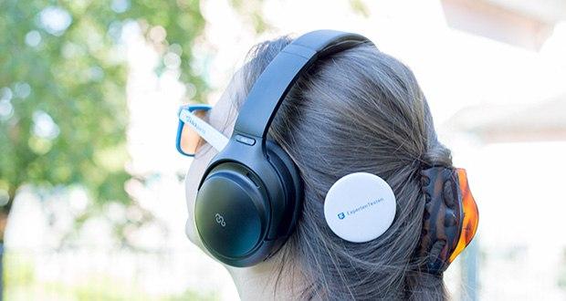 Mu6 Space 2 Bluetooth Kopfhörer im Test - Hybrid Active Noise Cancellation Technology ist ein verbessertes System, das nicht nur Geräusche über einen breiteren Frequenzbereich unterdrückt, sondern auch Fehler anpasst und korrigiert
