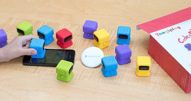 Tangiplay Coding Spielzeug im Test - ist eine neue Generation von Kodierspielzeug, die Kinder zum spielerischen Lernen anregt